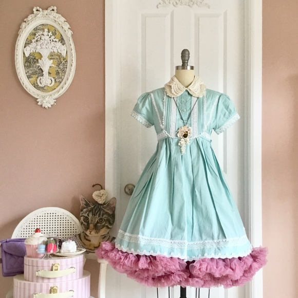Japan Kawaii Fashion Sea Foam Lace Top/Doll Dress